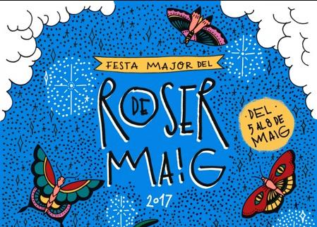 Del 5 al 8 de maig – Festa Major Roser de maig 2017 a Cerdanyola del Vallès