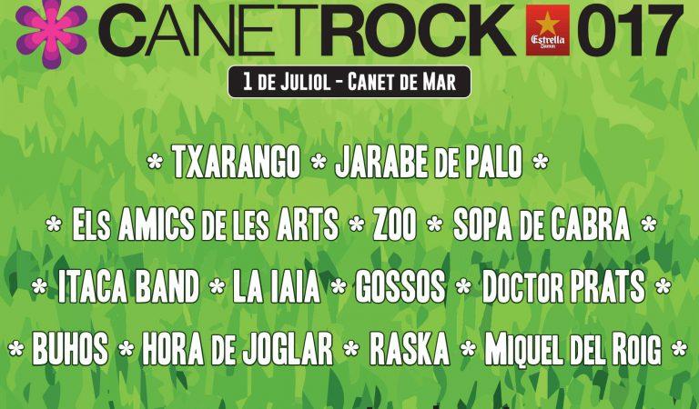 Canet Rock 2017 – Cartell i horaris d'actuacions