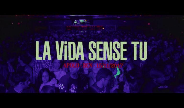 Lletra i Videoclip de la cançó d'en Xavi Sarrià – La vida sense tu (a l'Apolo de Barcelona)