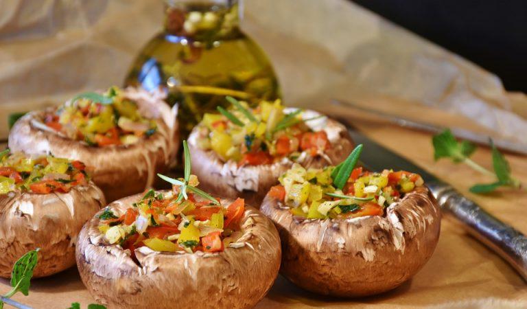 Recepta de Cuina, Com es fa – Xampinyons farcits de verdures