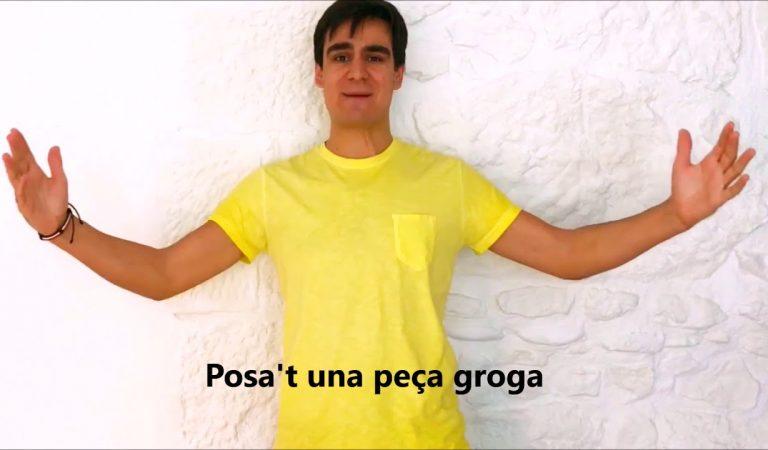 Lletra i Videoclip de la cançó de Lo Pau de Ponts – Posa't una peça groga
