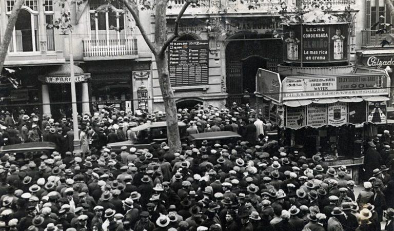 Des de quan i perquè els culers celebren les victòries a Canaletes? – Barcelona 1930