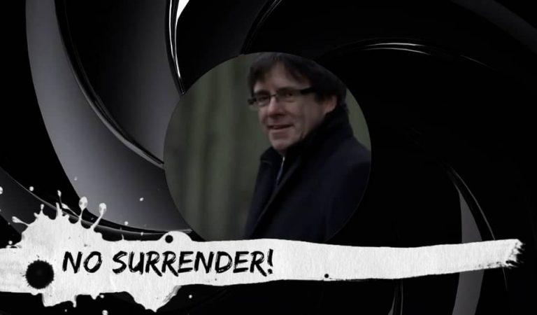 No surrender el vídeo d'homenatge a Carles Puigdemont
