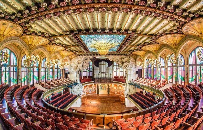 L'Orfeó català canta el Cant de la Senyera al Concert de Sant Esteve 2020 marcat per la pandèmia.
