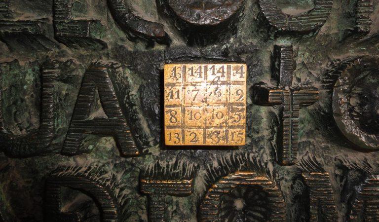 El quadrat màgic de la Sagrada Família – Barcelona