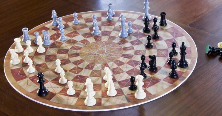 Heu jugat als escacs rodons?