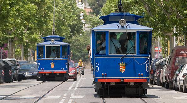 Voleu comprar un comboi del tramvia blau?