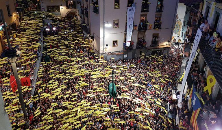 Els Segadors Himne Nacional de Catalunya a la Patum 2018