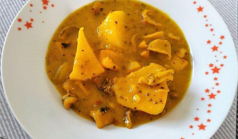 Recepta de Cuina, Com es fa – Calamars i patates a la mostassa.