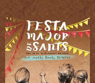 Gràcia dóna pas a la Festa Major de Sants – Barcelona
