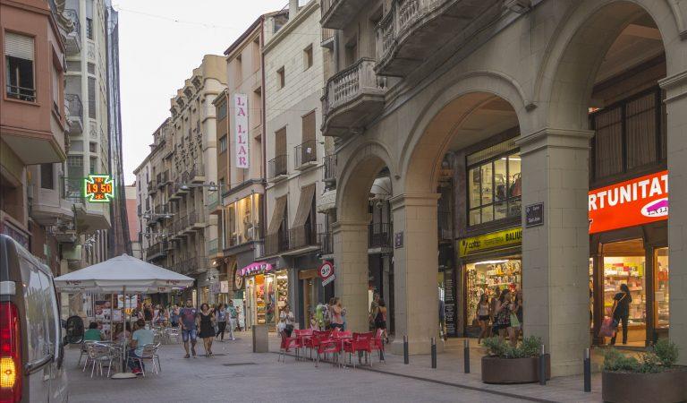 L'Eix Comercial de Lleida, el més llarg d'Europa.