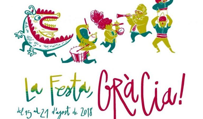 Festa Major de Gràcia 2018 – Programa d'activitats.