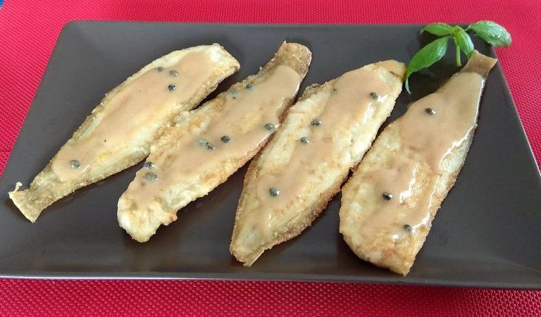 Recepta de Cuina, Com es fa – Llenguado amb salsa de pebre verd