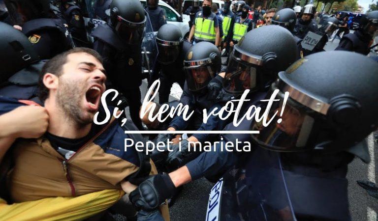 Lletra i Videoclip de la cançó del grup Pepet i Marieta – Sí, hem votat