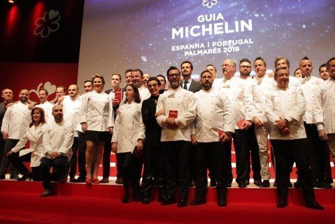 Barcelona obté quatre noves estrelles Michelin.Llistat complet.
