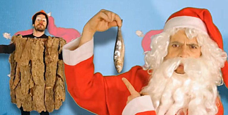 Lletra i Videoclip de la cançó del grup Mali Vanili – Caga Tió vs Pare Noel.