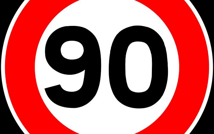 90 km/h – Nou límit de velocitat a les carreteres convencionals
