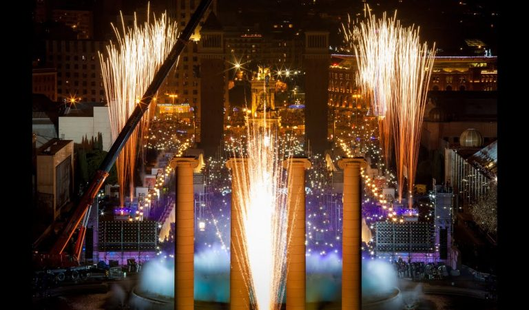 Sis anys celebrant el Cap d'Any a la Font Màgica de Montjuïc – Barcelona