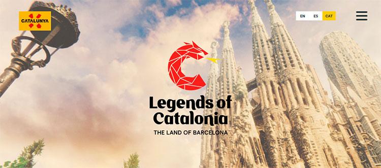 """""""LegendsofCatalonia"""" – Un joc per promocionar Catalunya"""