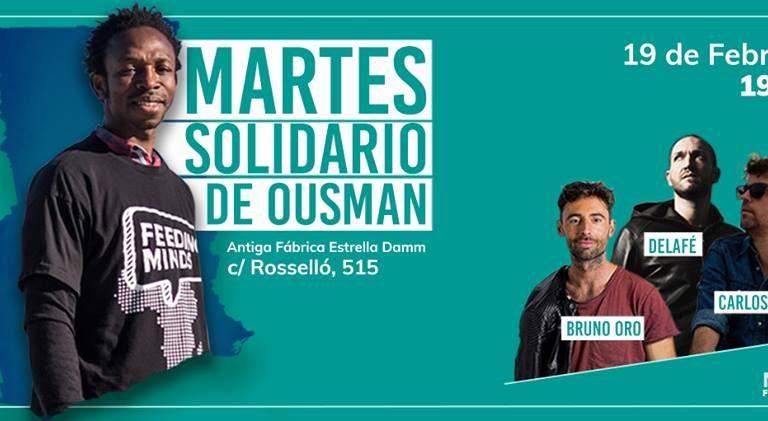 No us perdeu el Dimarts Solidari de l'OusmanUmar– 19 de febrer
