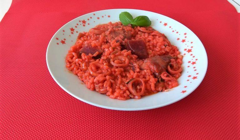 Recepta de Cuina, Com es fa – Arròs vermell amb conill i remolatxa