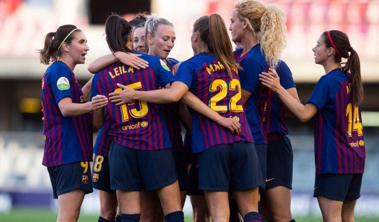 Comença el partit de futbol més important pel Barça femení – Final deChampions2019