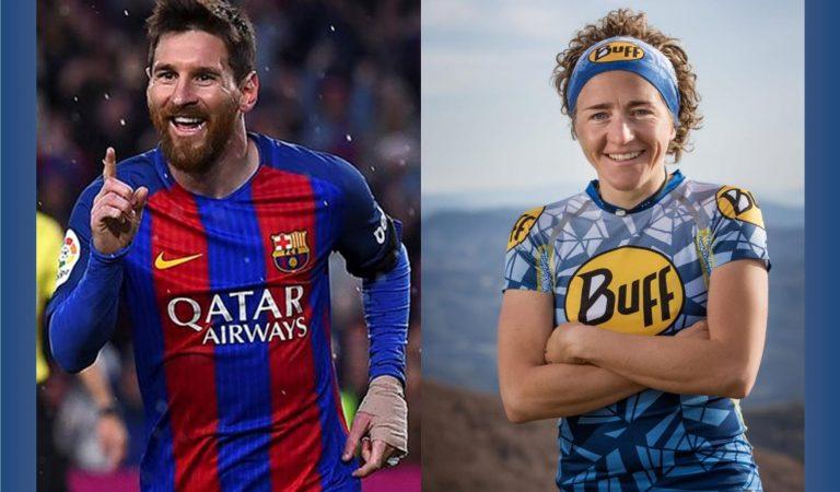 Leo Messi i NúriaPicashan rebut avui la Creu de Sant Jordi