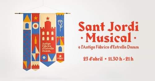 Torna el Sant Jordi Musical a l'antiga fàbrica Estrella Damm