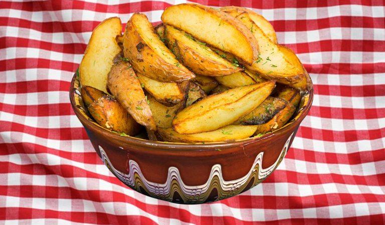 Recepta de Cuina, Com es fa – Patates grilló al forn