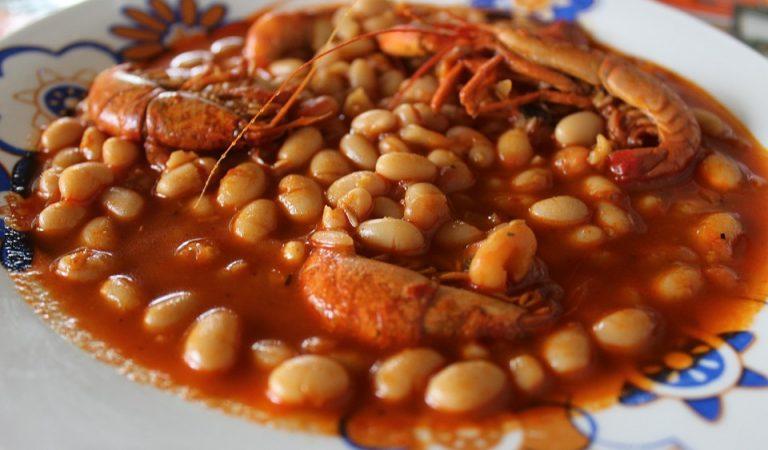 Recepta de Cuina, Com es fa – Mongetes estofades amb crancs de riu