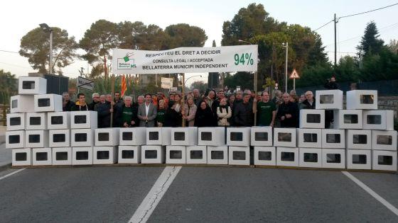 Manifestació l'any 2015 - EMD Bellaterra