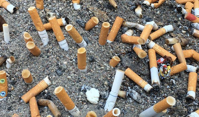 221.000 Burilles de Cigarretes recollides a la Platja de la Barceloneta
