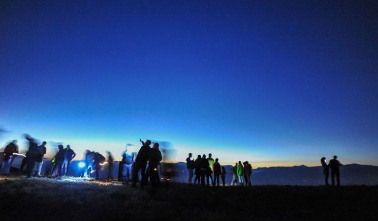 16 de juliol – Nit dels Estels, Jazz i Eclipsi parcial de Lluna a la Tossa d'Alp.