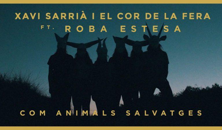 Lletra i Videoclip de la cançó d'en Xavi Sarrià i Roba Estesa – Com animals salvatges