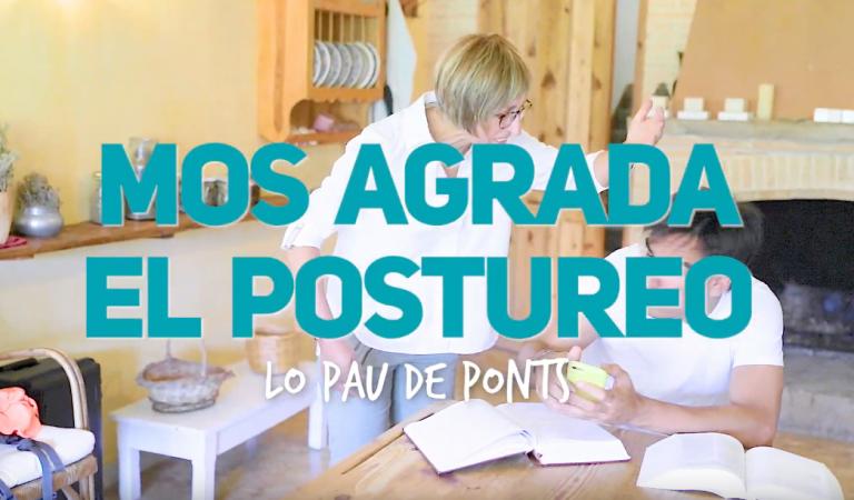 Lletra i Videoclip de la cançó de Lo Pau de Ponts – Mos agrada el postureo