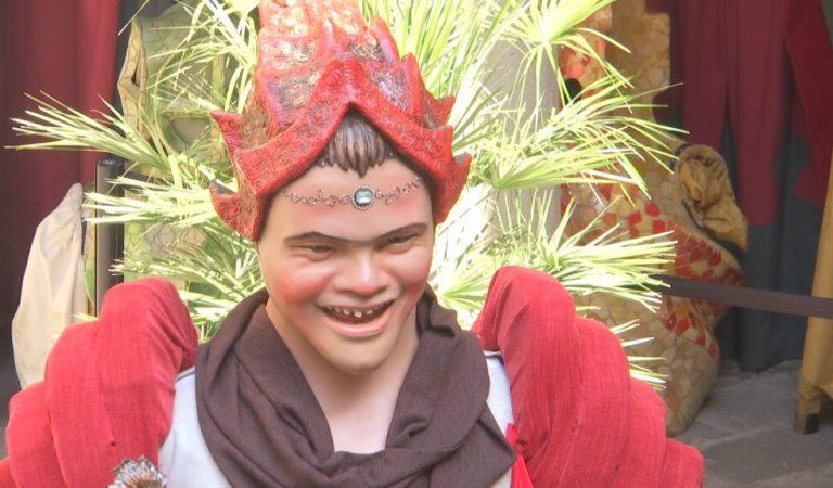 Normag, el primer Gegant amb Síndrome de Down ha fet un any aquesta setmana.