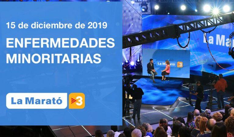 Tota la informació sobre La Marató 2019 dedicada a les Malalties Minoritàries.