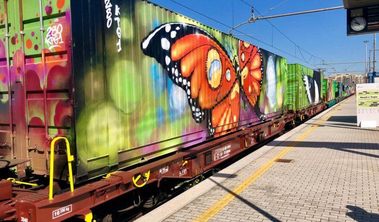El Tren de Noè arriba a l'Estació de França – Barcelona