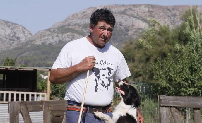 "Mor JordiMuxach, el pastor conegut pel crit de ""Jau, Coloma, Jau""."