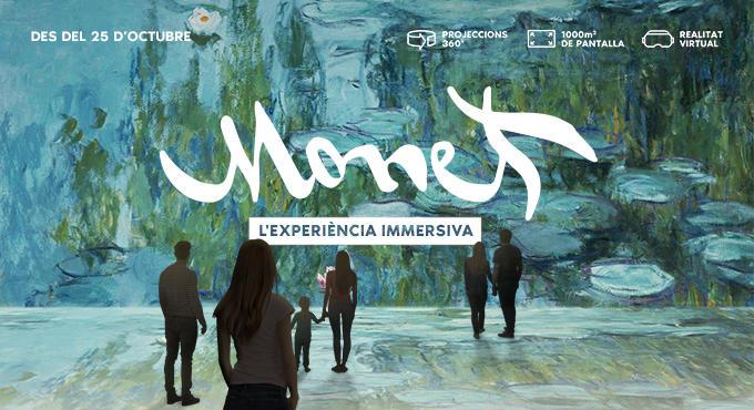 Monet arriba al Poblenou de Barcelona