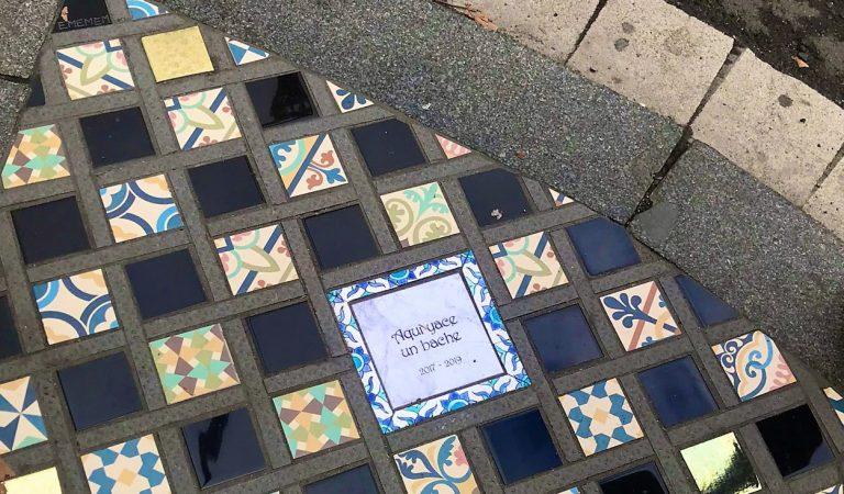 L'art per no oblidar els aldarulls de la Plaça Urquinaona