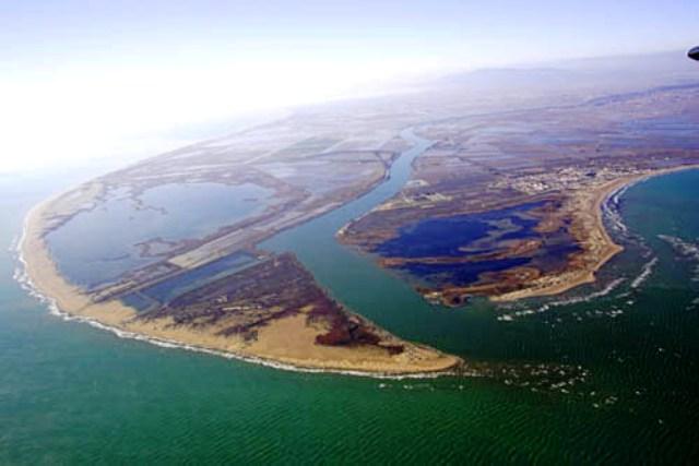 L'Illa de Buda en perill per culpa del canvi climàtic.