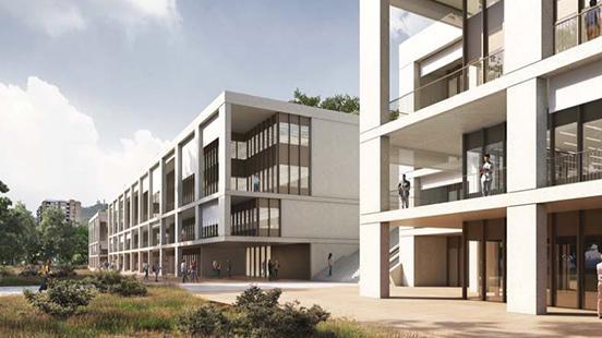 El Nou edifici del Vall d'Hebron Institut de Recerca estarà llest el 2023.