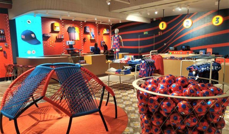 Ja heu visitat la nova botiga del Barça a Canaletes?