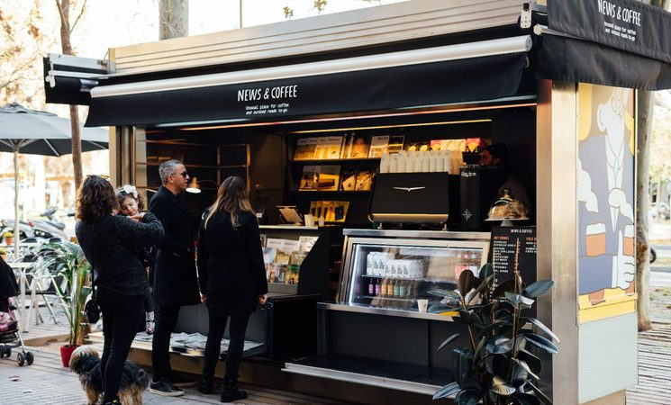 ElNews&Coffe, un nou concepte de quiosc per a Barcelona