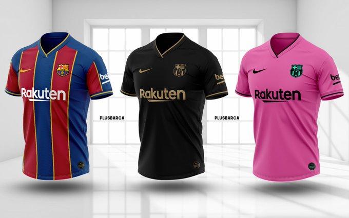 Us agraden les samarretes del Barça per la temporada 2020-2021?