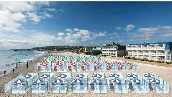 Us imagineu les platges i els restaurants amb mampares?