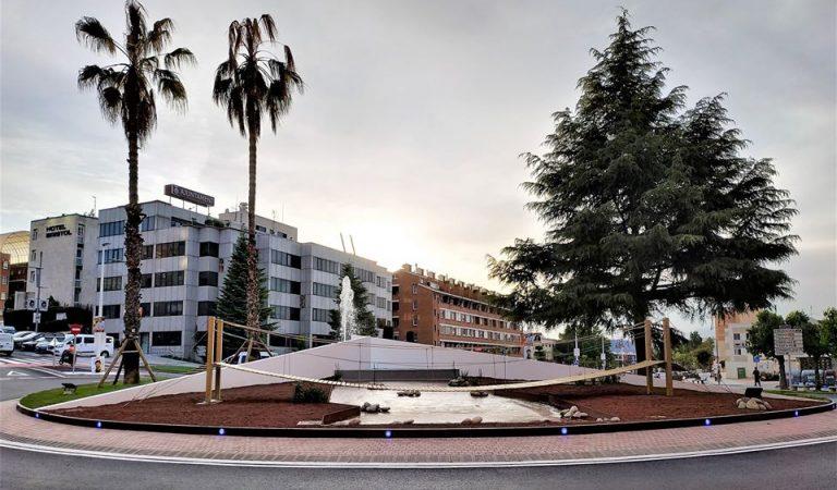 L'Hospital de Campanya muntat per la Guàrdia Civil a Sant Andreu de la Barca arriba als Tribunals