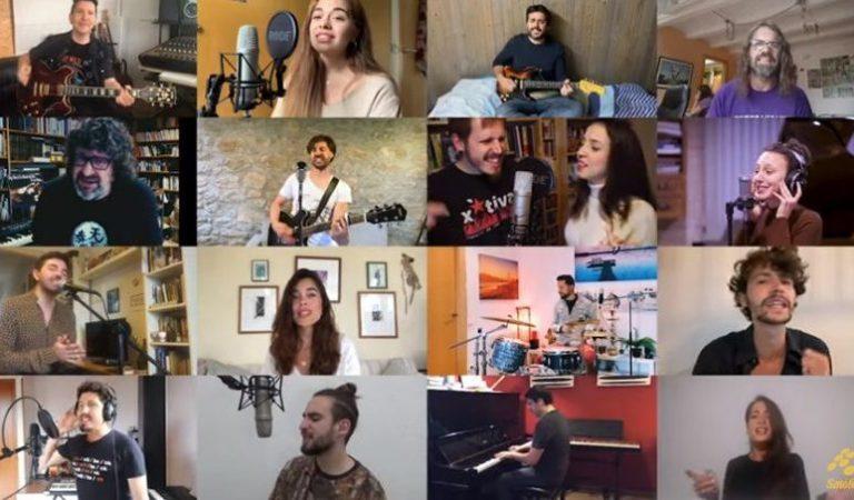 """Lletra i Videoclip oficial de la Cançó Col·lectiva """"Un Sant Jordi Diferent"""""""