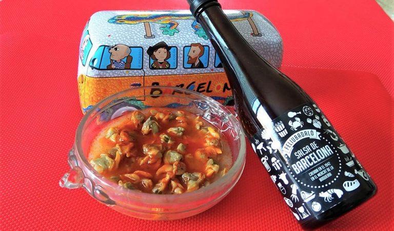Salsa Barcelona, nascuda fa78anys al mercat de la Boqueria, ideal per acompanyar unes escopinyes naturals.